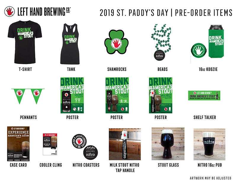 St. Patrick's Day POS image of items
